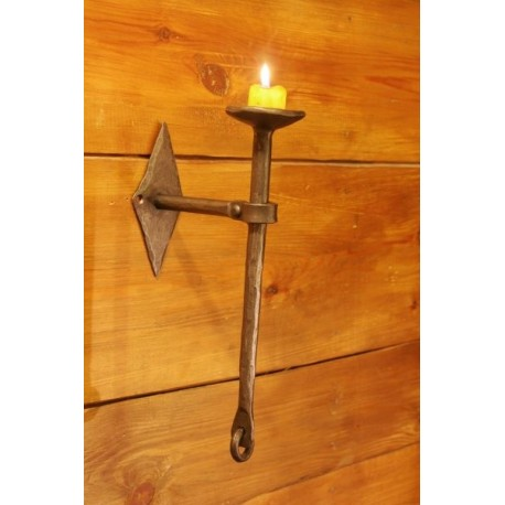 Candle holder on the wall