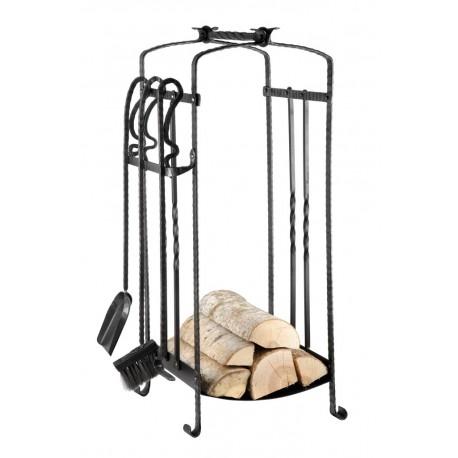 Woodbasket Metal With 3 tools
