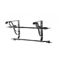 Rail for kitchen utensils